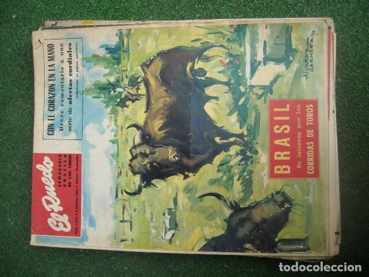 Tauromaquia: EL RUEDO SEMANARIO GRÁFICO DE LOS TOROS 73 EJEMPLARES AÑO 1962 1966 1967 1968 1970 1971 1972 1973 - Foto 34 - 167847784