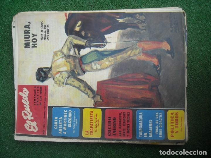 Tauromaquia: EL RUEDO SEMANARIO GRÁFICO DE LOS TOROS 73 EJEMPLARES AÑO 1962 1966 1967 1968 1970 1971 1972 1973 - Foto 36 - 167847784