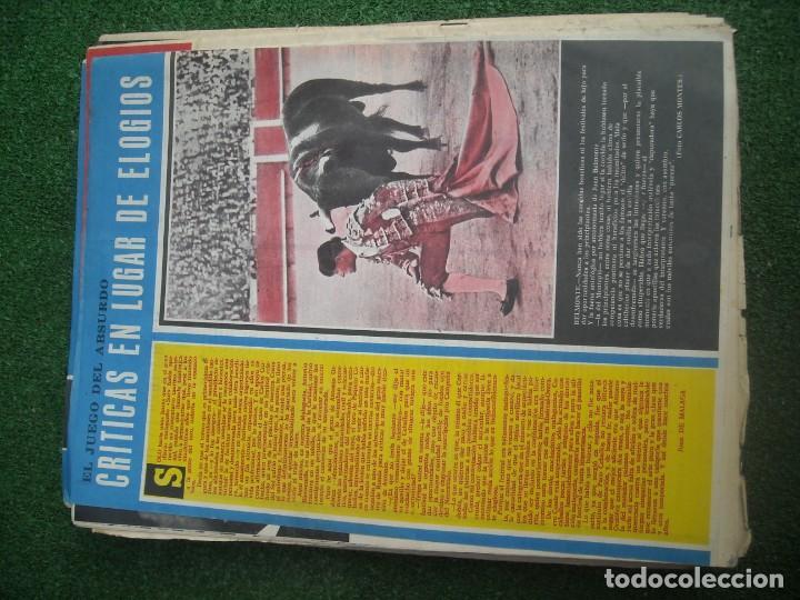 Tauromaquia: EL RUEDO SEMANARIO GRÁFICO DE LOS TOROS 73 EJEMPLARES AÑO 1962 1966 1967 1968 1970 1971 1972 1973 - Foto 37 - 167847784