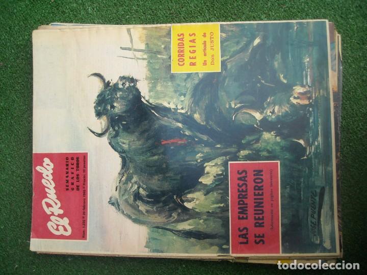Tauromaquia: EL RUEDO SEMANARIO GRÁFICO DE LOS TOROS 73 EJEMPLARES AÑO 1962 1966 1967 1968 1970 1971 1972 1973 - Foto 38 - 167847784