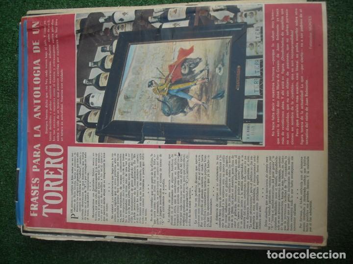 Tauromaquia: EL RUEDO SEMANARIO GRÁFICO DE LOS TOROS 73 EJEMPLARES AÑO 1962 1966 1967 1968 1970 1971 1972 1973 - Foto 39 - 167847784