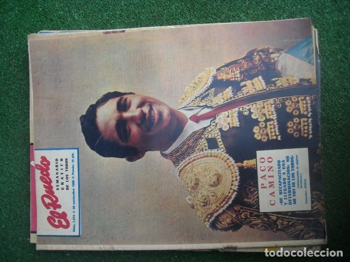 Tauromaquia: EL RUEDO SEMANARIO GRÁFICO DE LOS TOROS 73 EJEMPLARES AÑO 1962 1966 1967 1968 1970 1971 1972 1973 - Foto 40 - 167847784
