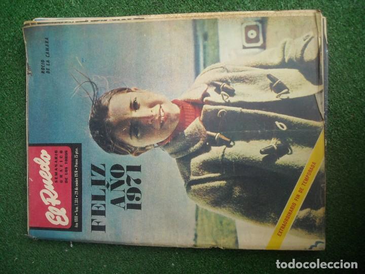 Tauromaquia: EL RUEDO SEMANARIO GRÁFICO DE LOS TOROS 73 EJEMPLARES AÑO 1962 1966 1967 1968 1970 1971 1972 1973 - Foto 44 - 167847784