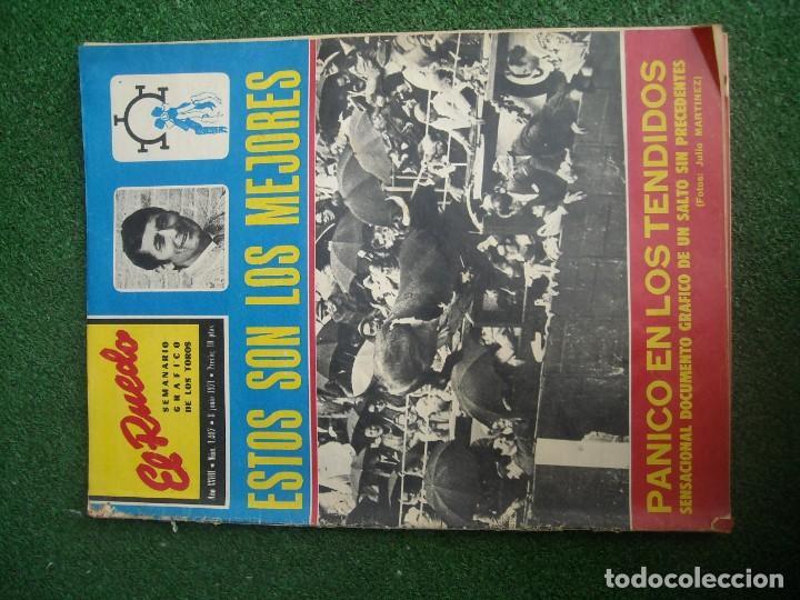 Tauromaquia: EL RUEDO SEMANARIO GRÁFICO DE LOS TOROS 73 EJEMPLARES AÑO 1962 1966 1967 1968 1970 1971 1972 1973 - Foto 49 - 167847784