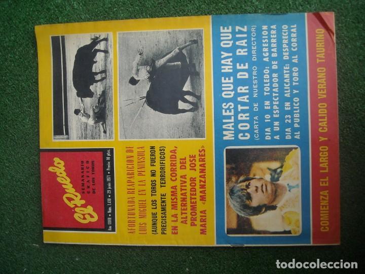 Tauromaquia: EL RUEDO SEMANARIO GRÁFICO DE LOS TOROS 73 EJEMPLARES AÑO 1962 1966 1967 1968 1970 1971 1972 1973 - Foto 51 - 167847784