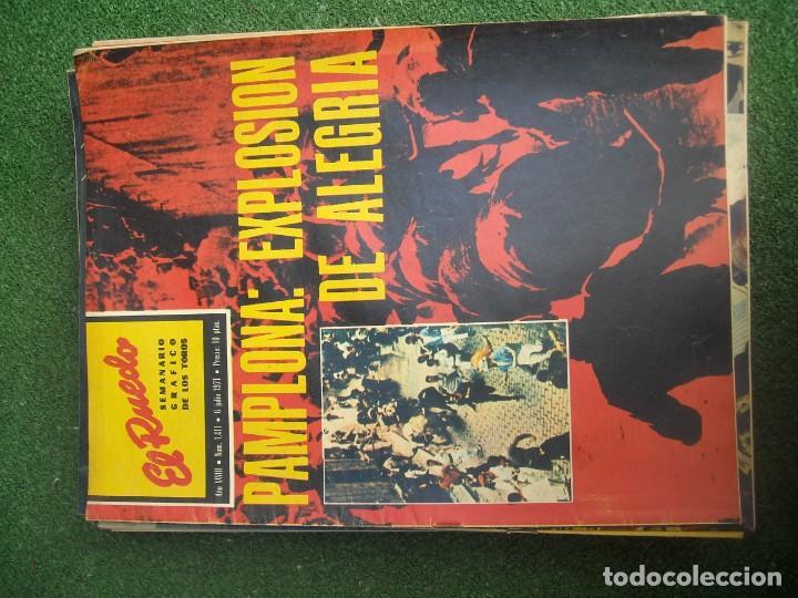 Tauromaquia: EL RUEDO SEMANARIO GRÁFICO DE LOS TOROS 73 EJEMPLARES AÑO 1962 1966 1967 1968 1970 1971 1972 1973 - Foto 53 - 167847784
