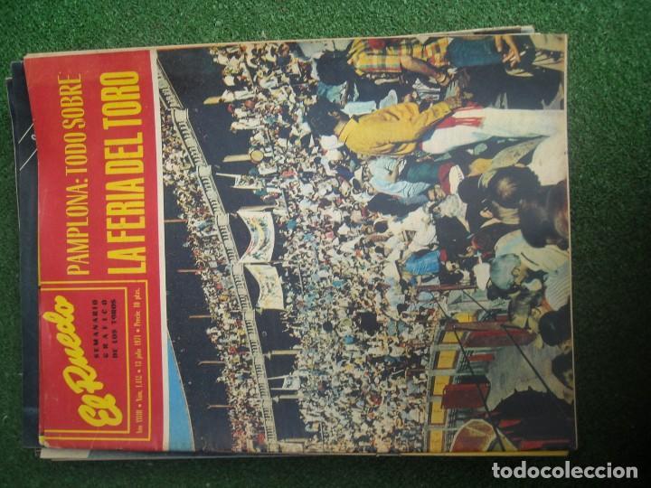 Tauromaquia: EL RUEDO SEMANARIO GRÁFICO DE LOS TOROS 73 EJEMPLARES AÑO 1962 1966 1967 1968 1970 1971 1972 1973 - Foto 55 - 167847784