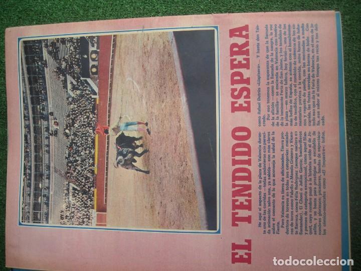 Tauromaquia: EL RUEDO SEMANARIO GRÁFICO DE LOS TOROS 73 EJEMPLARES AÑO 1962 1966 1967 1968 1970 1971 1972 1973 - Foto 58 - 167847784