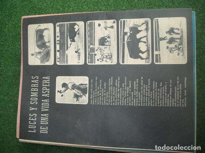 Tauromaquia: EL RUEDO SEMANARIO GRÁFICO DE LOS TOROS 73 EJEMPLARES AÑO 1962 1966 1967 1968 1970 1971 1972 1973 - Foto 61 - 167847784