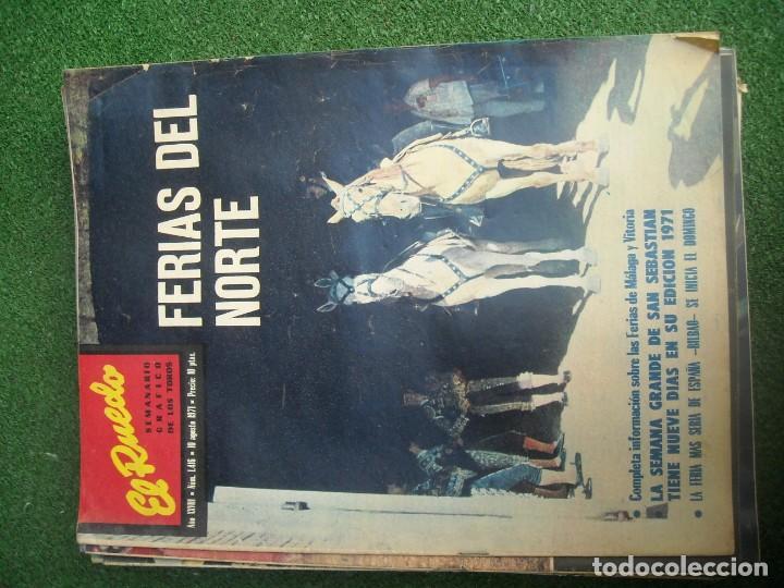 Tauromaquia: EL RUEDO SEMANARIO GRÁFICO DE LOS TOROS 73 EJEMPLARES AÑO 1962 1966 1967 1968 1970 1971 1972 1973 - Foto 62 - 167847784