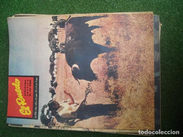 Tauromaquia: EL RUEDO SEMANARIO GRÁFICO DE LOS TOROS 73 EJEMPLARES AÑO 1962 1966 1967 1968 1970 1971 1972 1973 - Foto 66 - 167847784