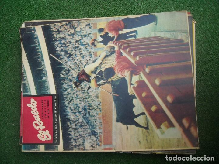 Tauromaquia: EL RUEDO SEMANARIO GRÁFICO DE LOS TOROS 73 EJEMPLARES AÑO 1962 1966 1967 1968 1970 1971 1972 1973 - Foto 70 - 167847784