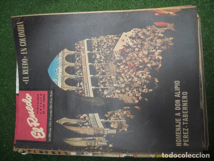 Tauromaquia: EL RUEDO SEMANARIO GRÁFICO DE LOS TOROS 73 EJEMPLARES AÑO 1962 1966 1967 1968 1970 1971 1972 1973 - Foto 72 - 167847784