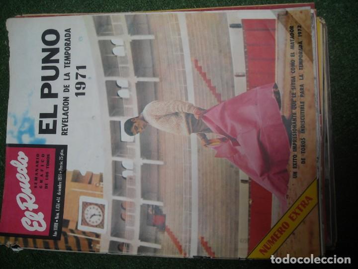 Tauromaquia: EL RUEDO SEMANARIO GRÁFICO DE LOS TOROS 73 EJEMPLARES AÑO 1962 1966 1967 1968 1970 1971 1972 1973 - Foto 74 - 167847784