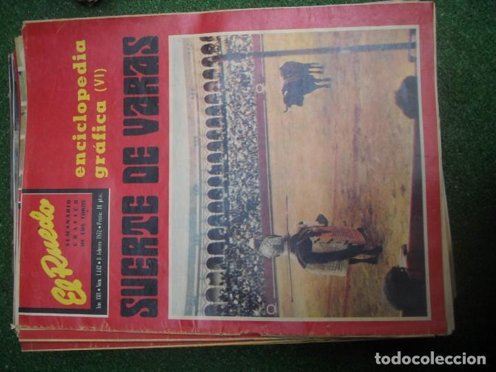 Tauromaquia: EL RUEDO SEMANARIO GRÁFICO DE LOS TOROS 73 EJEMPLARES AÑO 1962 1966 1967 1968 1970 1971 1972 1973 - Foto 76 - 167847784