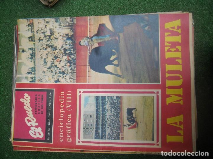 Tauromaquia: EL RUEDO SEMANARIO GRÁFICO DE LOS TOROS 73 EJEMPLARES AÑO 1962 1966 1967 1968 1970 1971 1972 1973 - Foto 78 - 167847784