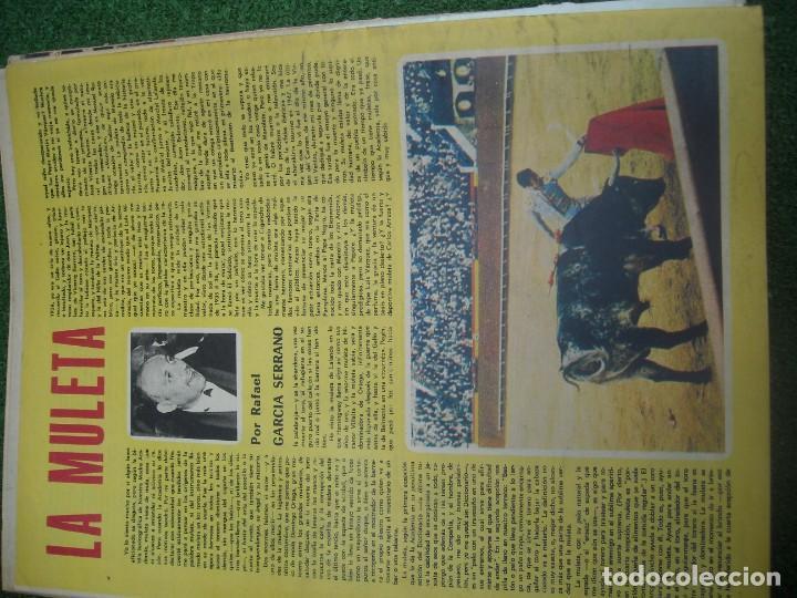 Tauromaquia: EL RUEDO SEMANARIO GRÁFICO DE LOS TOROS 73 EJEMPLARES AÑO 1962 1966 1967 1968 1970 1971 1972 1973 - Foto 79 - 167847784