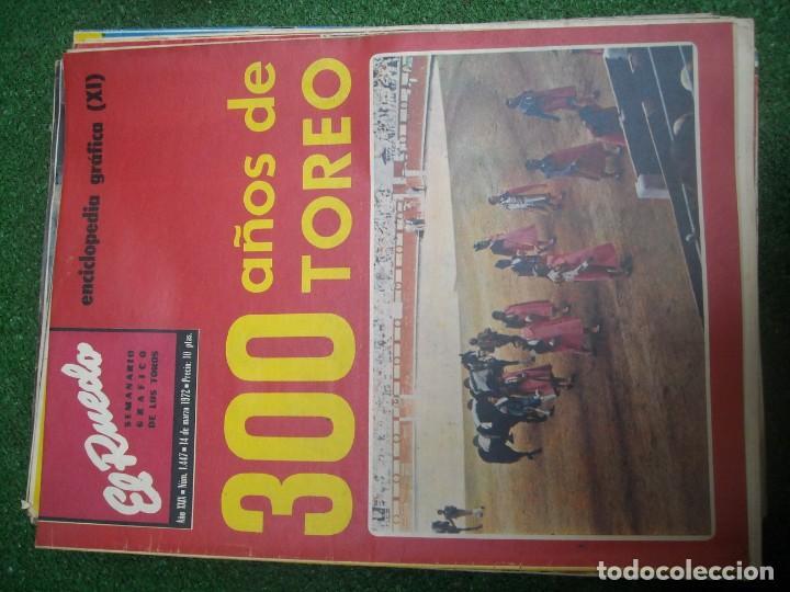 Tauromaquia: EL RUEDO SEMANARIO GRÁFICO DE LOS TOROS 73 EJEMPLARES AÑO 1962 1966 1967 1968 1970 1971 1972 1973 - Foto 80 - 167847784
