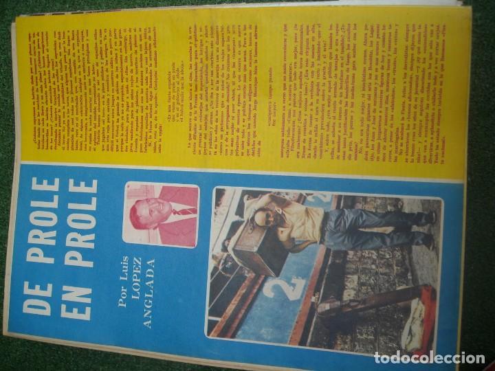 Tauromaquia: EL RUEDO SEMANARIO GRÁFICO DE LOS TOROS 73 EJEMPLARES AÑO 1962 1966 1967 1968 1970 1971 1972 1973 - Foto 81 - 167847784