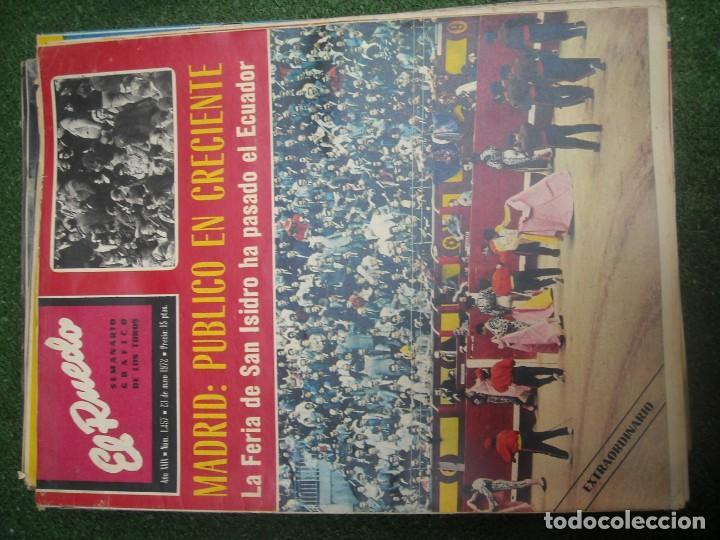 Tauromaquia: EL RUEDO SEMANARIO GRÁFICO DE LOS TOROS 73 EJEMPLARES AÑO 1962 1966 1967 1968 1970 1971 1972 1973 - Foto 82 - 167847784