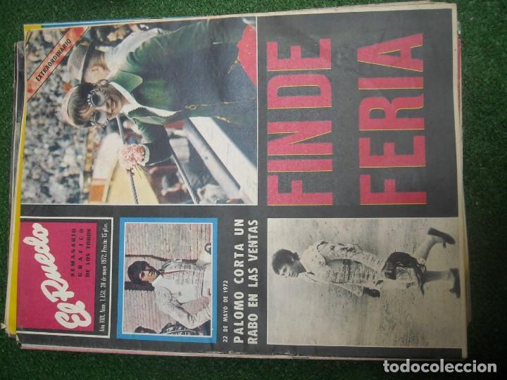 Tauromaquia: EL RUEDO SEMANARIO GRÁFICO DE LOS TOROS 73 EJEMPLARES AÑO 1962 1966 1967 1968 1970 1971 1972 1973 - Foto 84 - 167847784