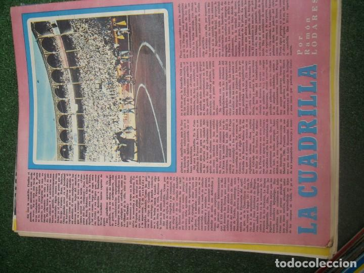 Tauromaquia: EL RUEDO SEMANARIO GRÁFICO DE LOS TOROS 73 EJEMPLARES AÑO 1962 1966 1967 1968 1970 1971 1972 1973 - Foto 87 - 167847784