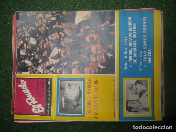 Tauromaquia: EL RUEDO SEMANARIO GRÁFICO DE LOS TOROS 73 EJEMPLARES AÑO 1962 1966 1967 1968 1970 1971 1972 1973 - Foto 88 - 167847784