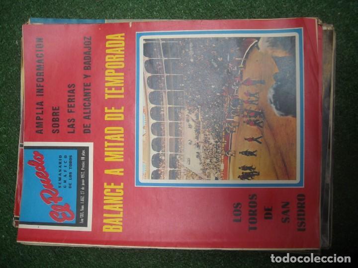 Tauromaquia: EL RUEDO SEMANARIO GRÁFICO DE LOS TOROS 73 EJEMPLARES AÑO 1962 1966 1967 1968 1970 1971 1972 1973 - Foto 90 - 167847784
