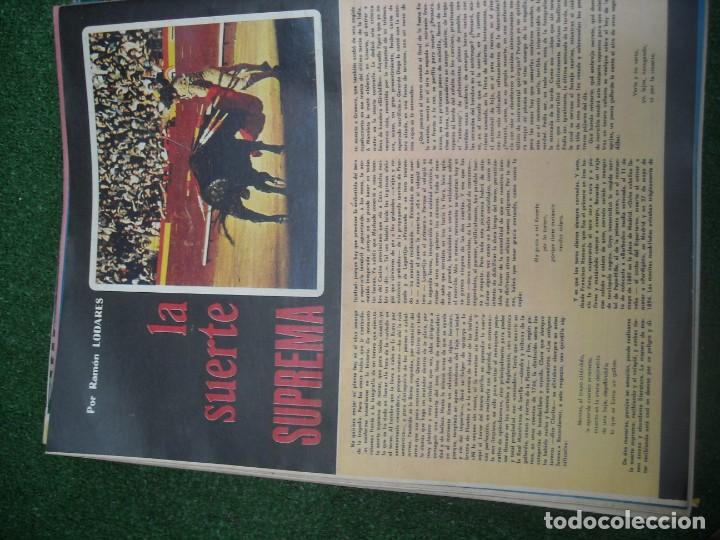 Tauromaquia: EL RUEDO SEMANARIO GRÁFICO DE LOS TOROS 73 EJEMPLARES AÑO 1962 1966 1967 1968 1970 1971 1972 1973 - Foto 91 - 167847784