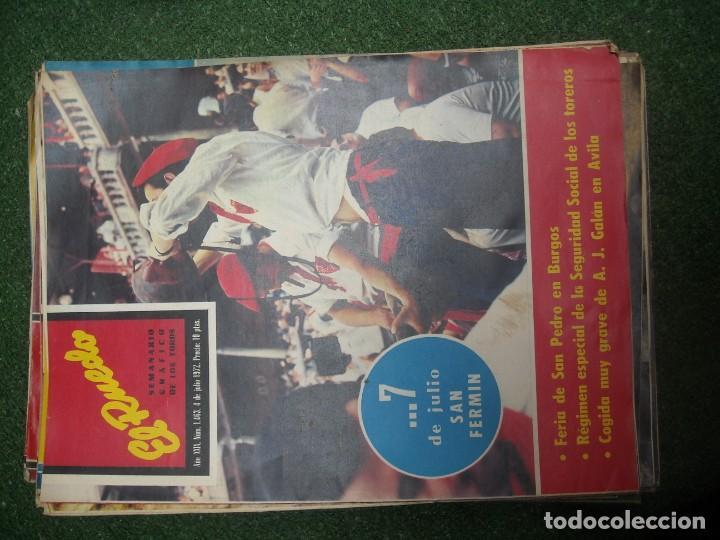 Tauromaquia: EL RUEDO SEMANARIO GRÁFICO DE LOS TOROS 73 EJEMPLARES AÑO 1962 1966 1967 1968 1970 1971 1972 1973 - Foto 92 - 167847784