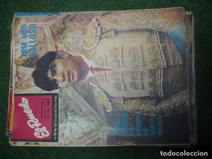 Tauromaquia: EL RUEDO SEMANARIO GRÁFICO DE LOS TOROS 73 EJEMPLARES AÑO 1962 1966 1967 1968 1970 1971 1972 1973 - Foto 94 - 167847784