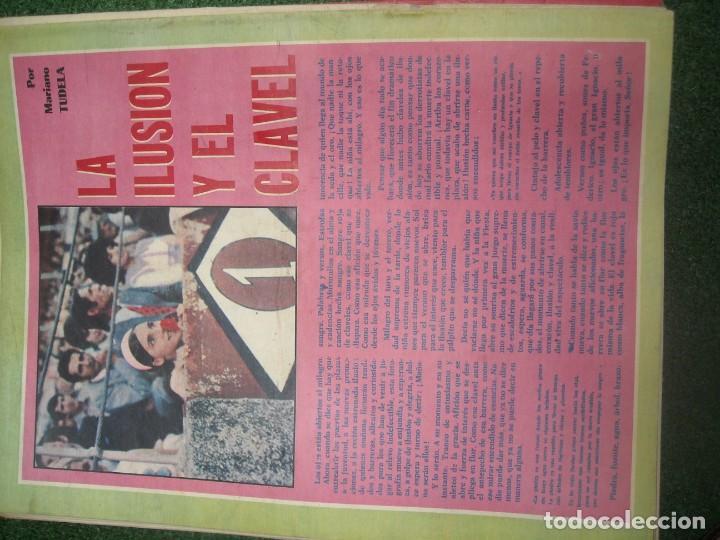 Tauromaquia: EL RUEDO SEMANARIO GRÁFICO DE LOS TOROS 73 EJEMPLARES AÑO 1962 1966 1967 1968 1970 1971 1972 1973 - Foto 97 - 167847784
