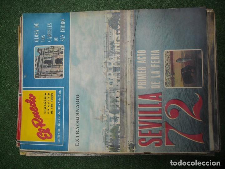 Tauromaquia: EL RUEDO SEMANARIO GRÁFICO DE LOS TOROS 73 EJEMPLARES AÑO 1962 1966 1967 1968 1970 1971 1972 1973 - Foto 98 - 167847784