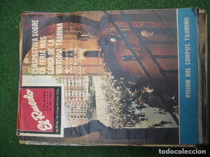 Tauromaquia: EL RUEDO SEMANARIO GRÁFICO DE LOS TOROS 73 EJEMPLARES AÑO 1962 1966 1967 1968 1970 1971 1972 1973 - Foto 100 - 167847784
