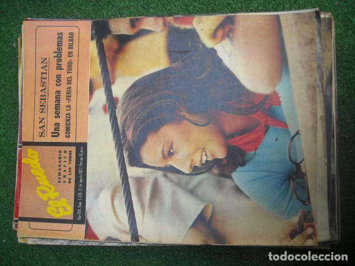 Tauromaquia: EL RUEDO SEMANARIO GRÁFICO DE LOS TOROS 73 EJEMPLARES AÑO 1962 1966 1967 1968 1970 1971 1972 1973 - Foto 102 - 167847784