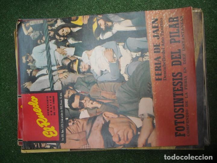 Tauromaquia: EL RUEDO SEMANARIO GRÁFICO DE LOS TOROS 73 EJEMPLARES AÑO 1962 1966 1967 1968 1970 1971 1972 1973 - Foto 106 - 167847784