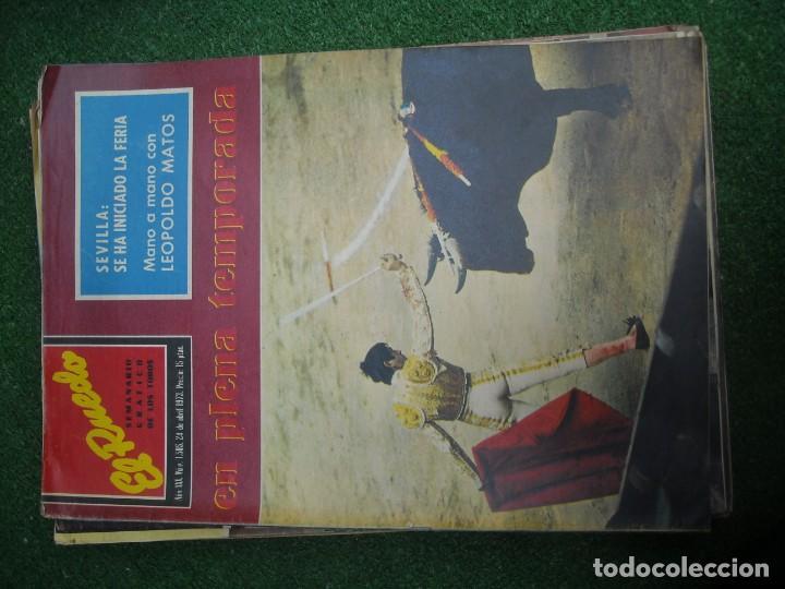 Tauromaquia: EL RUEDO SEMANARIO GRÁFICO DE LOS TOROS 73 EJEMPLARES AÑO 1962 1966 1967 1968 1970 1971 1972 1973 - Foto 108 - 167847784