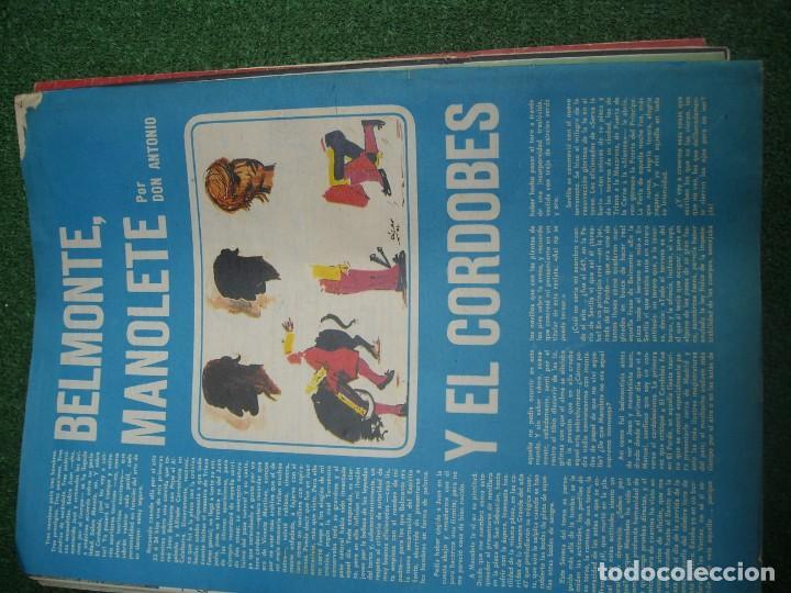 Tauromaquia: EL RUEDO SEMANARIO GRÁFICO DE LOS TOROS 73 EJEMPLARES AÑO 1962 1966 1967 1968 1970 1971 1972 1973 - Foto 109 - 167847784