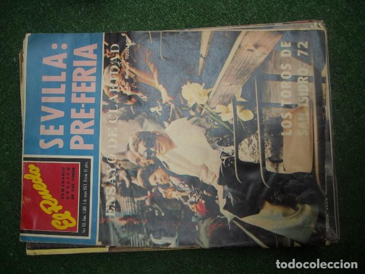 Tauromaquia: EL RUEDO SEMANARIO GRÁFICO DE LOS TOROS 73 EJEMPLARES AÑO 1962 1966 1967 1968 1970 1971 1972 1973 - Foto 110 - 167847784