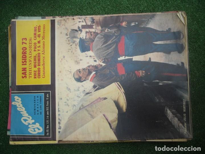 Tauromaquia: EL RUEDO SEMANARIO GRÁFICO DE LOS TOROS 73 EJEMPLARES AÑO 1962 1966 1967 1968 1970 1971 1972 1973 - Foto 112 - 167847784