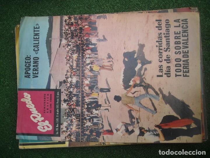 Tauromaquia: EL RUEDO SEMANARIO GRÁFICO DE LOS TOROS 73 EJEMPLARES AÑO 1962 1966 1967 1968 1970 1971 1972 1973 - Foto 114 - 167847784