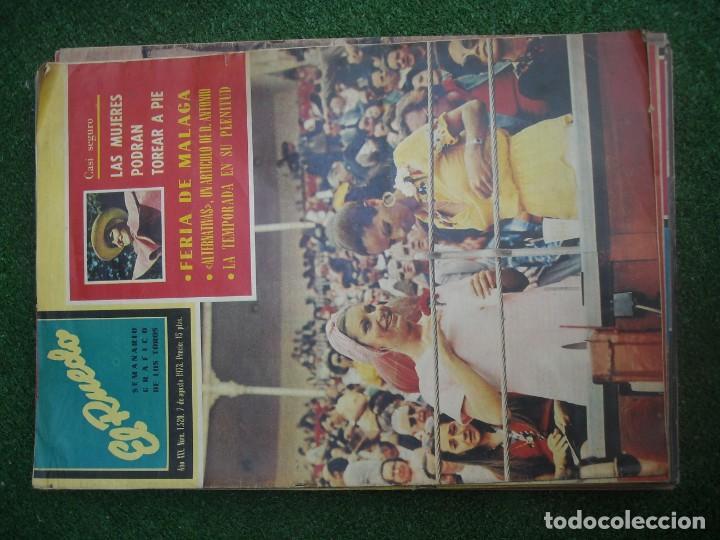 Tauromaquia: EL RUEDO SEMANARIO GRÁFICO DE LOS TOROS 73 EJEMPLARES AÑO 1962 1966 1967 1968 1970 1971 1972 1973 - Foto 116 - 167847784