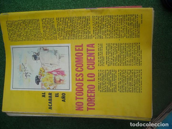 Tauromaquia: EL RUEDO SEMANARIO GRÁFICO DE LOS TOROS 73 EJEMPLARES AÑO 1962 1966 1967 1968 1970 1971 1972 1973 - Foto 119 - 167847784