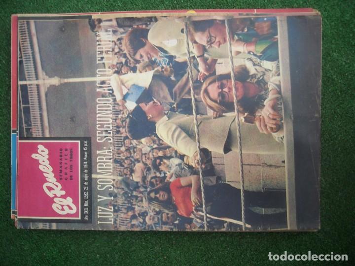 Tauromaquia: EL RUEDO SEMANARIO GRÁFICO DE LOS TOROS 73 EJEMPLARES AÑO 1962 1966 1967 1968 1970 1971 1972 1973 - Foto 124 - 167847784