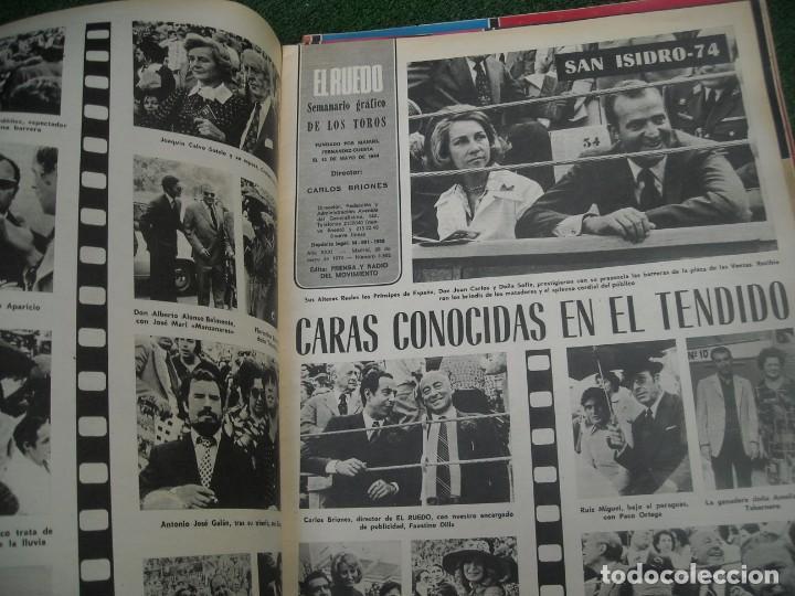 Tauromaquia: EL RUEDO SEMANARIO GRÁFICO DE LOS TOROS 73 EJEMPLARES AÑO 1962 1966 1967 1968 1970 1971 1972 1973 - Foto 125 - 167847784