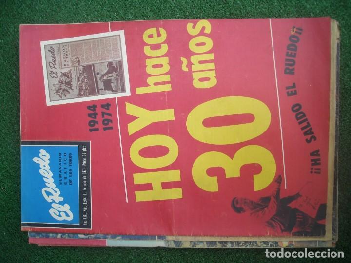 Tauromaquia: EL RUEDO SEMANARIO GRÁFICO DE LOS TOROS 73 EJEMPLARES AÑO 1962 1966 1967 1968 1970 1971 1972 1973 - Foto 129 - 167847784