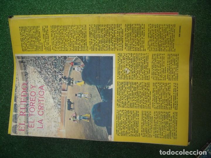 Tauromaquia: EL RUEDO SEMANARIO GRÁFICO DE LOS TOROS 73 EJEMPLARES AÑO 1962 1966 1967 1968 1970 1971 1972 1973 - Foto 130 - 167847784
