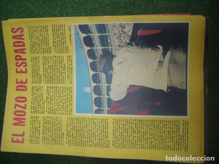 Tauromaquia: EL RUEDO SEMANARIO GRÁFICO DE LOS TOROS 73 EJEMPLARES AÑO 1962 1966 1967 1968 1970 1971 1972 1973 - Foto 132 - 167847784