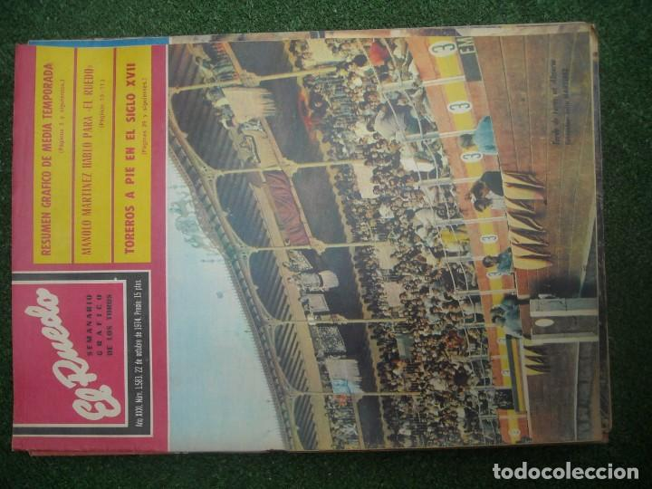 Tauromaquia: EL RUEDO SEMANARIO GRÁFICO DE LOS TOROS 73 EJEMPLARES AÑO 1962 1966 1967 1968 1970 1971 1972 1973 - Foto 133 - 167847784