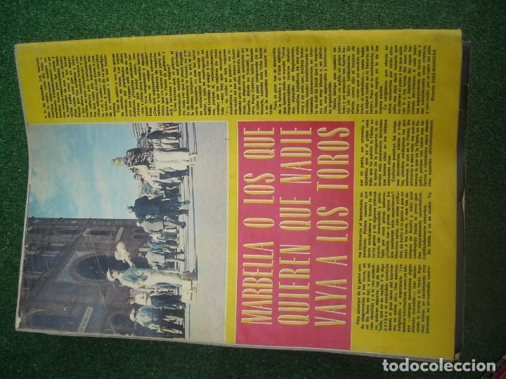 Tauromaquia: EL RUEDO SEMANARIO GRÁFICO DE LOS TOROS 73 EJEMPLARES AÑO 1962 1966 1967 1968 1970 1971 1972 1973 - Foto 136 - 167847784